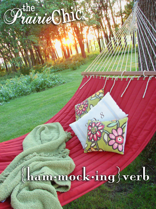 Hammocking cover