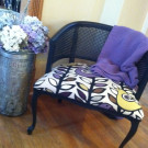 &#8220;Boho Prairie&#8221; Bird Chair