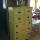 Another Yellow Dresser